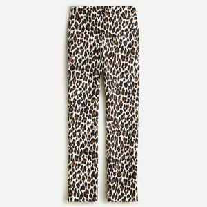 J CREW Remi pant in leopard